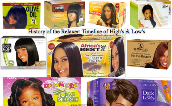 Timeline Of Hair Relaxers High S And Low S Live Your