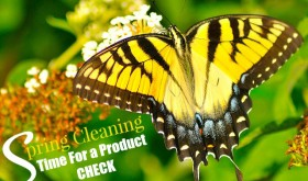 Spring Cleaning: Time For a Product Check