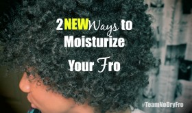 2 Ways to Moisturize Your Fro