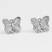 BFly Studs (Silver-Plated)