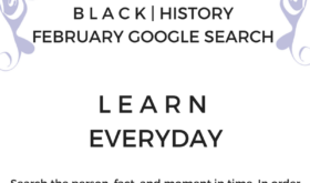 B L A C K | HISTORY MONTH Google Search Challenge